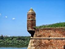 Belgrade fästning royaltyfri foto