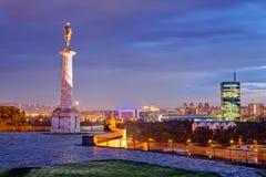 Belgrade fästning royaltyfria bilder