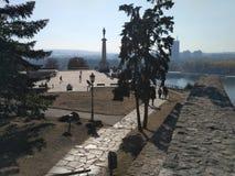 Belgrade forteca Zdjęcie Royalty Free