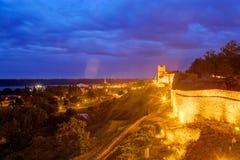 Belgrade forteca i Kalemegdan park Zdjęcie Royalty Free