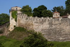 Belgrade fortress-5 Royalty Free Stock Photography