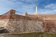 Belgrade fortress  Stock Photography