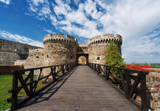 Belgrade fortress Royalty Free Stock Image