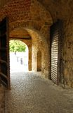 Belgrade fortress gate Stock Images