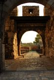Belgrade fortress gate Royalty Free Stock Images