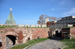 Belgrade fortress Royalty Free Stock Images