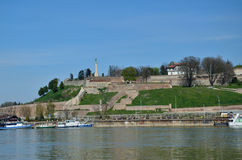 Belgrade fortress Kalemegdan Royalty Free Stock Images