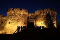 Belgrade fortress Kalemegdan Stock Photography