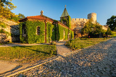 Belgrade fortress and Kalemegdan park Stock Photography