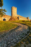 Belgrade fortress and Kalemegdan park Royalty Free Stock Photo