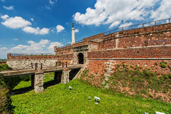 Belgrade fortress and Kalemegdan park Stock Photos