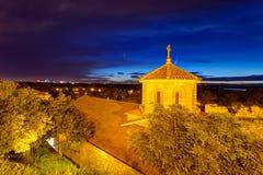 Belgrade fortress and Kalemegdan park royalty free stock image