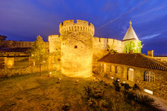 Belgrade fortress and Kalemegdan park Royalty Free Stock Photography