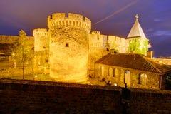Belgrade fortress and Kalemegdan park Royalty Free Stock Photos