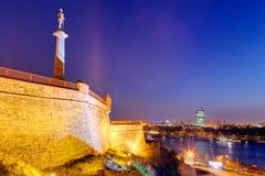 Belgrade fortress and Kalemegdan park Stock Image