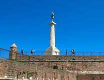 Belgrade fortress Stock Photo