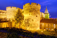 Belgrade fortress Stock Image