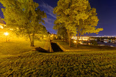 Belgrade fortress Royalty Free Stock Photo