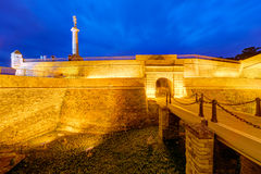 Belgrade fortress Stock Images