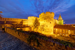 Belgrade fortress Royalty Free Stock Photo
