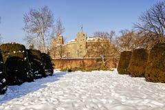 Belgrade fortress an winter Stock Photos
