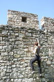 Belgrade free climbing Royalty Free Stock Image