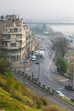 Belgrade gatasikt Arkivfoto