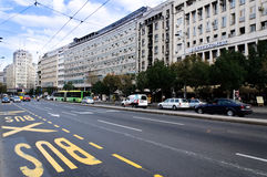 Belgrade gator Arkivbild