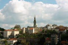 Belgrade huvudstad av Serbien Royaltyfria Bilder