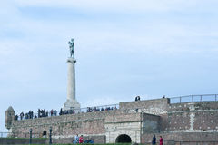 Belgrade Kalemegdan Fortress Serbia Royalty Free Stock Photography