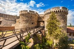 Belgrade Kalemegdan fortress Royalty Free Stock Images