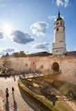 belgrade kalemegdan serbia arkivbild