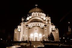 belgrade katedralny sava st zdjęcia stock