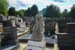 Belgrade Kid cemetery Royalty Free Stock Photos