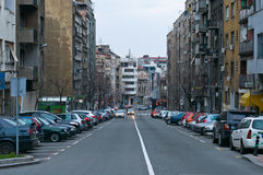 Belgrade. Kraljine Natalia street. Stock Photo