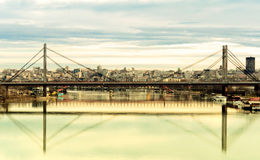 Belgrade landscape Royalty Free Stock Image