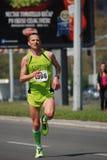 Belgrade marathnon konkurent Obraz Stock