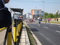 Belgrade Marathon 6 Royalty Free Stock Photo
