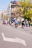 Belgrade marathon Stock Images