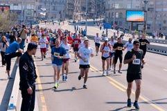 Belgrade marathon Stock Photo