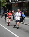 Belgrade Marathon 2014. stock images