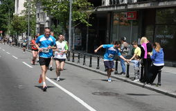 Belgrade Marathon 2014. royalty free stock photos