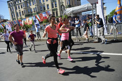 Belgrade Marathon, Serbia Stock Photos