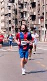 Belgrade maraton Fotografering för Bildbyråer