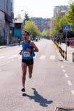 Belgrade maraton Arkivfoto