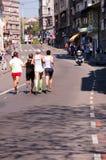 Belgrade maraton Royaltyfri Fotografi