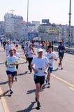 Belgrade maraton Royaltyfri Foto