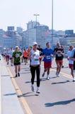 Belgrade maraton Arkivfoton