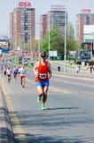 Belgrade maraton Royaltyfri Bild