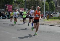 Belgrade maraton 2014 Obrazy Royalty Free